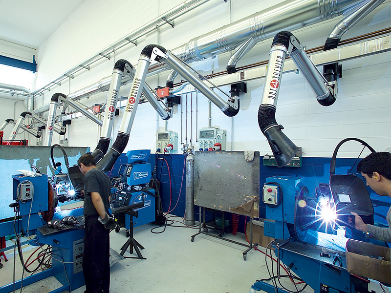 Welding Fume Extraction Systems : Diy welding fume extractor arm do it your self