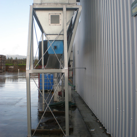 Industry: Beehive Manufacturing<br /> Filter System Type: Bag Filter, Reverse cleaning<br /> Type of Dust: Pine dust<br /> Air Volume: 7,500 m3/h