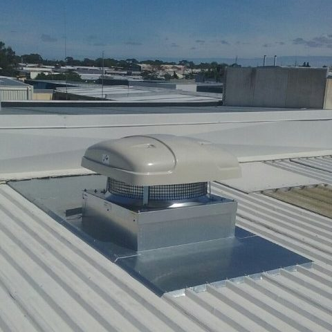 Industrial Roof Mounted Extraction Fan