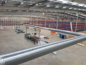 Industrial Internal Ducting