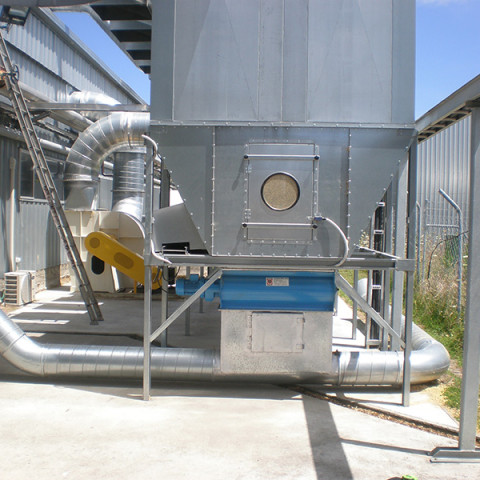 Industry: Particle Board Manufacture<br />