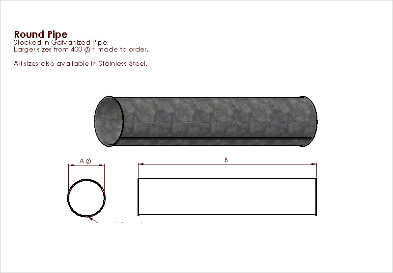 round-pipe